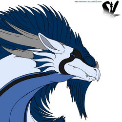 Silcan the patagonian dragon (profile pic) by ClerianD
