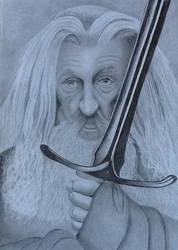 Gandalf by PaulTHutchins