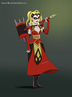 Harley Hyrule by SteveMillersArt