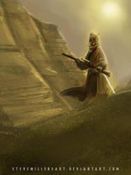 Tusken Raider by SteveMillersArt