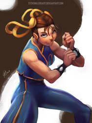 Chun-Li by SteveMillersArt