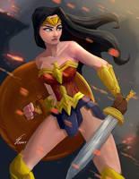 Wonder Woman by SteveMillersArt