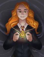Hermione by SteveMillersArt