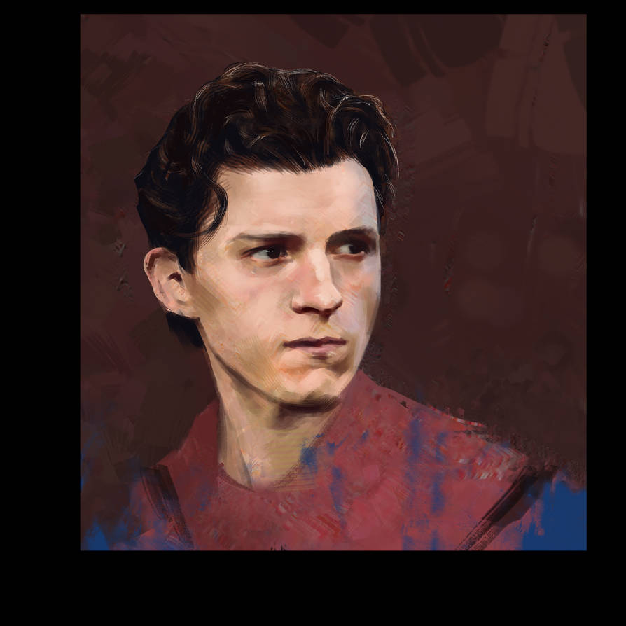Spider-man Portrait by D4MNED-NONAME