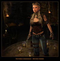 Victoria Cavanaugh ~ Mythos Seeker by karibous-boutique