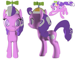 Screwball 3d  Daddy Discord Creation by VictorDaworker
