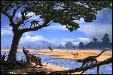 Eocen fauna by dustdevil