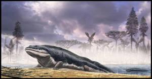 Ichthyostega revisited by dustdevil