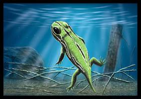 Amphibamus grandiceps by dustdevil