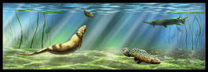 Messel underwater wildlife by dustdevil