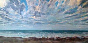 Saint Gilles beach by dustdevil