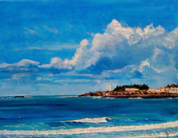 Saint Gilles coast by dustdevil