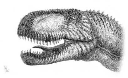 Abelisaurus comahuensis by dustdevil