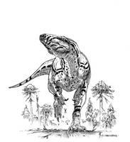 Dubreuillosaurus valesdunensis by dustdevil