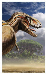 Tyrannosaurus rex _ detail by dustdevil