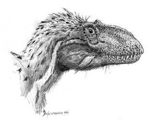 Yutyrannus huali by dustdevil