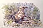 Young Coelurosaur by dustdevil