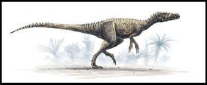 Herrerasaurus by dustdevil