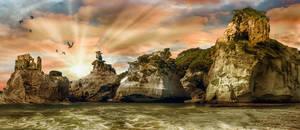 Cliffs by skyfirehead