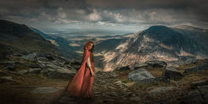 Mountain Girl by skyfirehead