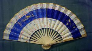 Tres Heures Folding Fan by LadyArwynn16