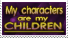 Stamp: Characters are children by Jammerlee