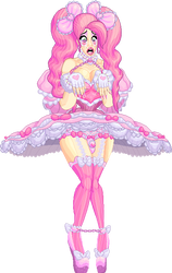 Princess Crybaby (Frilly Pink Nightmare) by ticklesbiggins