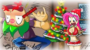 Merry Christmas spike by RYURED