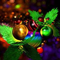 Colourful Christmas Joy by BGai
