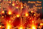 Happy New Year 2018 -2 by BGai