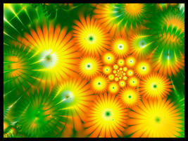 Sunny Flowers by BGai
