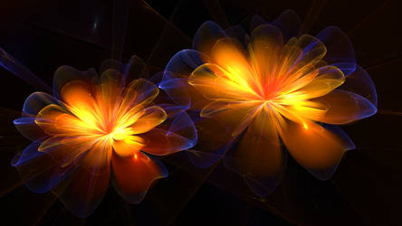 Touched by Fire and Stardust by BGai