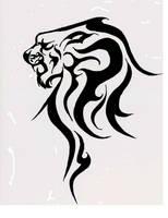 Lion Tattoo by Macauleyh