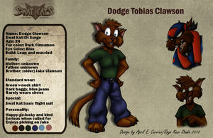 Dodge Clawson reference Sheet by Soyo-Kaze-Studio