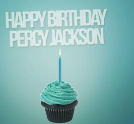 HAPPY BIRTHDAY PERCY JACKSON-WIP by Mairelyn