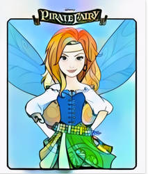 Pirate Fairy- Int.Pirate Day 2018-WIP by Mairelyn