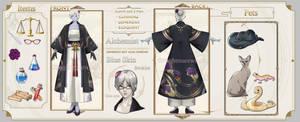 FFXIV Character Sheet CM: Castorre by ZeitDieben