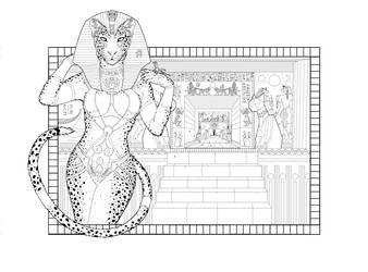 Tigran Necromancer Lineart by Grey-Catfish