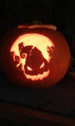Jack's Nightmare Pumpkin by Kezzamin