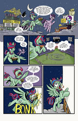 Ponies in the Outfield 03 by LytletheLemur