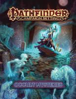 Occult mysteries cover art by JohanGrenier