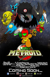 Lego Metroid Poster by 001rich100