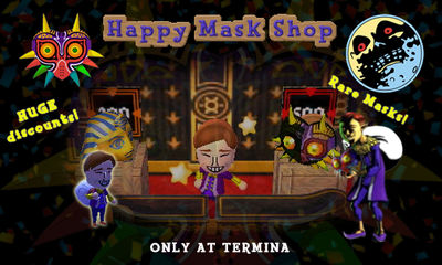 Happy Mask Shop (TBT Banner) by 001rich100