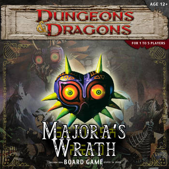 DnD Majora's Wrath Adventure Box Cover by 001rich100