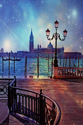 Magical Night in Venice by naked-in-the-rain