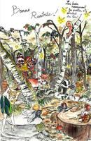 La Rentree dans le bois des fees by feeyuu