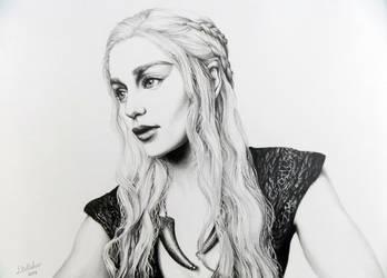 Daenerys by LornaKelleherArt