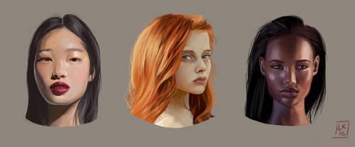 Painting Studies 3 by LornaKelleherArt