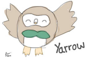 Yarrow the Rowlet by ThePuddleCat