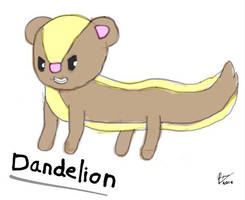 Dandelion the Yungoos by ThePuddleCat